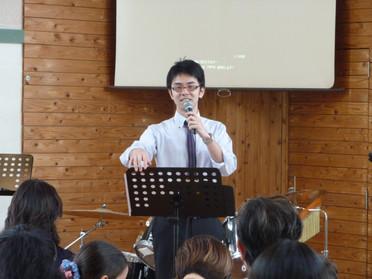 2015年7月12日聖日礼拝
