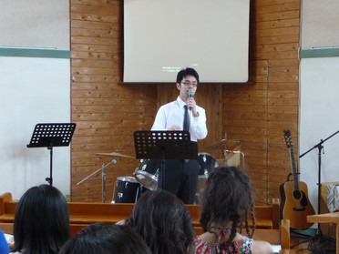 2015年7月19日 聖日礼拝