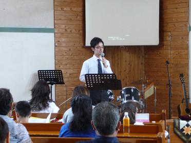 2015年7月26日聖日礼拝