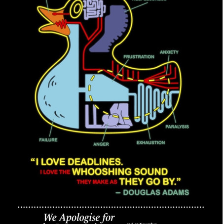 We Apologise for the Inconvenience poster