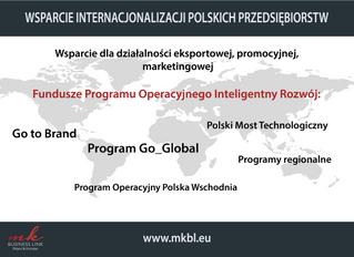 Narzędzia wsparcia internacjonalizacji polskich przedsiębiorstw cz.I