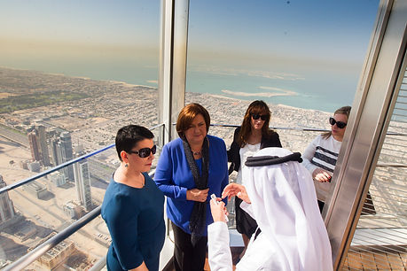 Visit of Mrs. Anna Komorowska in Dubai