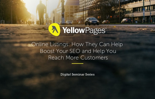 Webinar: Yellow Pages Online Listings