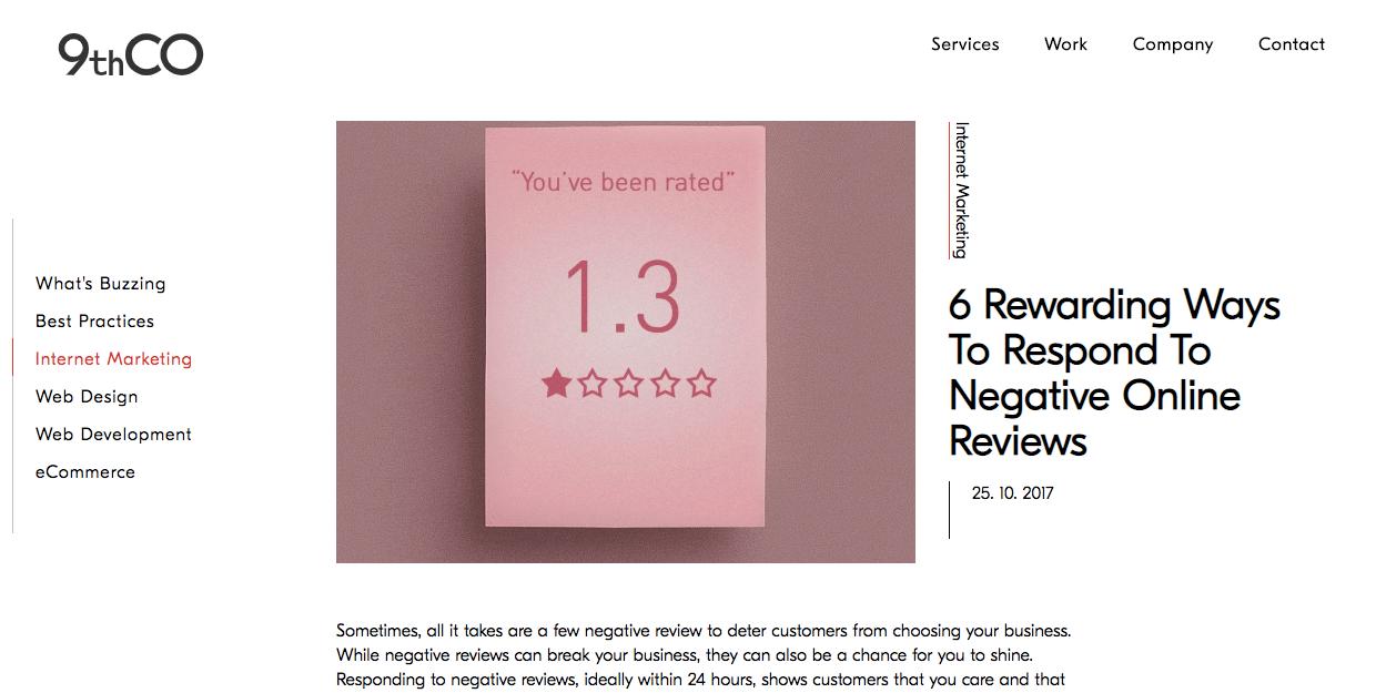 6 Rewarding Ways To Respond To Negative Online Reviews