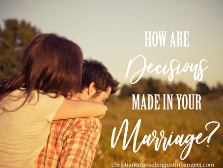 Three Ways to Make a Decision in Marriage
