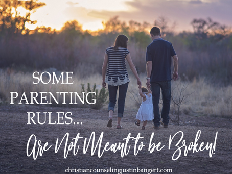Some Parenting Rules are Not Meant to be Broken
