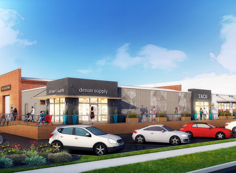 Rhino Market joins Free Range Brewing at Ram's new mixed-use project, The Collective