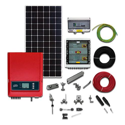 Usina de Geração de Energia Solar ongrid com geração de 1700/1790kw