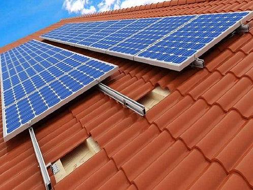 Usina de Geração de Energia Solar ongrid com geração de 12000kw