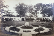 Lawrenny Sunk Rose Garden circa 1870