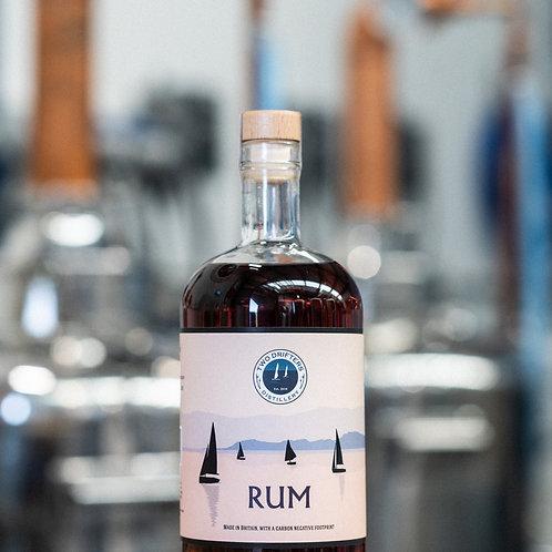 Two Drifters Dark Rum - 70cl Bottle