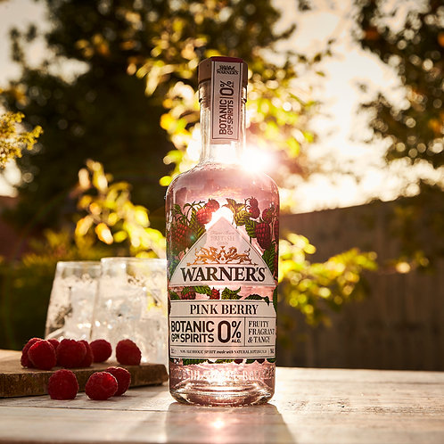 Warners Pink Berry 0% - 50cl Bottle