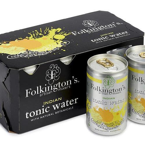 Folkingtons Fridge Pack Indian Tonic (8 x 150ml)