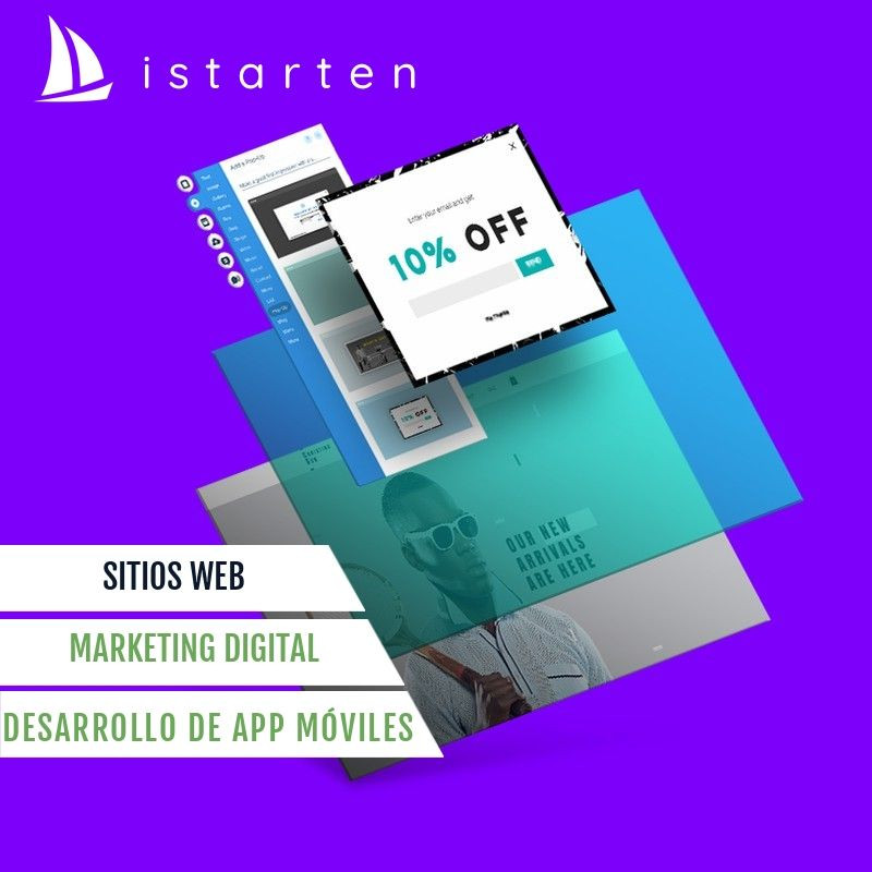 Agencia istarten - Creación de sitios web, tiendas virtuales - Marketing Digital