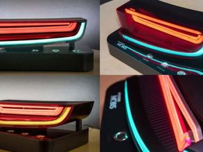 La nueva luz trasera de Hyundai Mobis utiliza un LED para realizar dos funciones