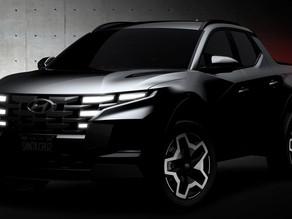 Hyundai Santa Cruz 2022 aparece a la vista antes de la revelación del 15 de abril