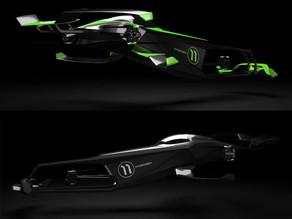 Un coche volador de hidrógeno busca llevar las carreras de F1 al aire