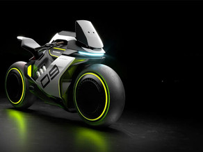Segway anuncia la ultrafuturista motocicleta de hidrógeno Apex H2