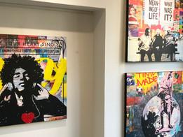 'Jeg går på det lille hus for at se på kunst...?' Bomhus blev til billedhus