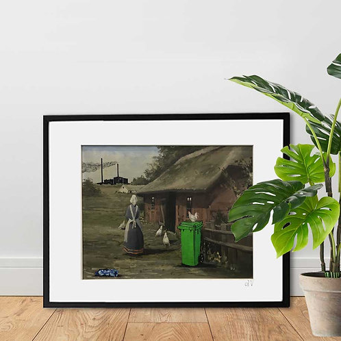 19. Dec: TRASH ART (Artprint)