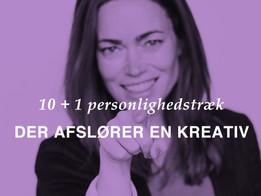 10+1 personlighedstræk der afslører en kreativ