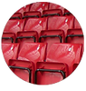 fiberglass sport facilities seats