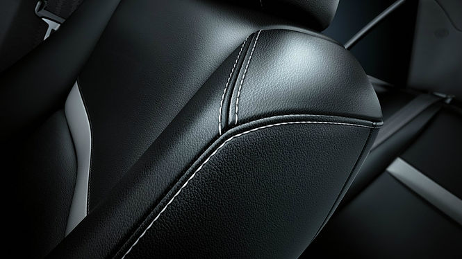 artificial leather car interior