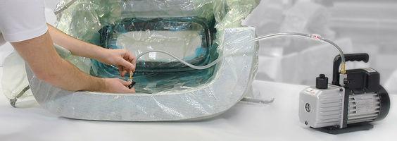 вакуум консумативи инфузия найлон дишаща тъкан лента