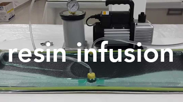 resin infusion epoxy resin composite materials