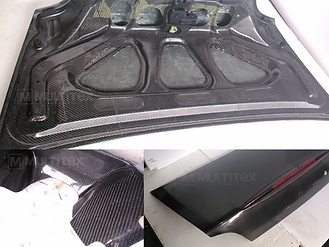 japan tuning mitsubishi lancer evolution evo X carbon body hood