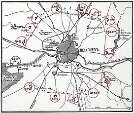 карта фортов