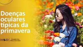 Doenças oculares típicas da primavera