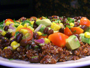 TJ's Quinoa, Black Bean & Avocado Salad
