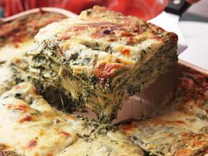 Spinach Zubriac Lasagne