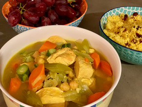 Couscous with Chicken and Veggie Stew