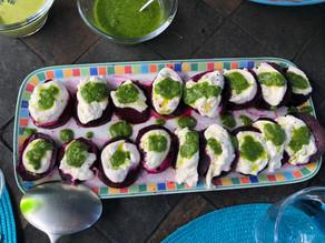 Beet Caprese Salad