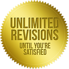 book cover designs with unlimited revisions seal