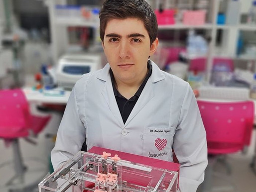 Brazilian Doctor becomes an Innovator Under 35 LATAM