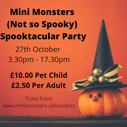 Spooktacular Party (Not So Scary)
