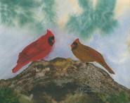 Pine Forest Cardinals