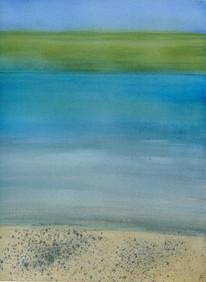Color Field: Hawai'i Salt and Pepper Beach