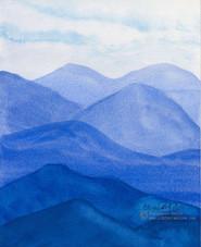 Ultramarine Mountain
