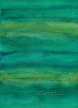Hues of Green Stripes