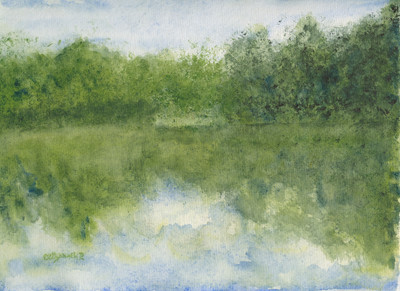 Green Mountain Sky Lake