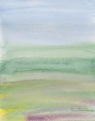 Field as Color Field (South Carollina Field Series)