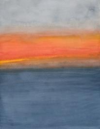 Color Field: Hawai'i Ocean Sunset