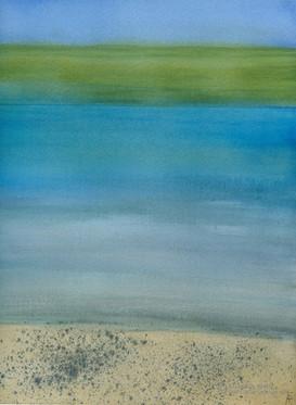 Color Field: Hawaii Salt and Pepper Beach
