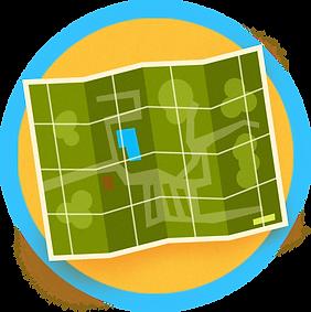 Plan du camping Russeltown Montérégie