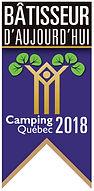 Bâtisseur d'aujoud'hui camping Québec