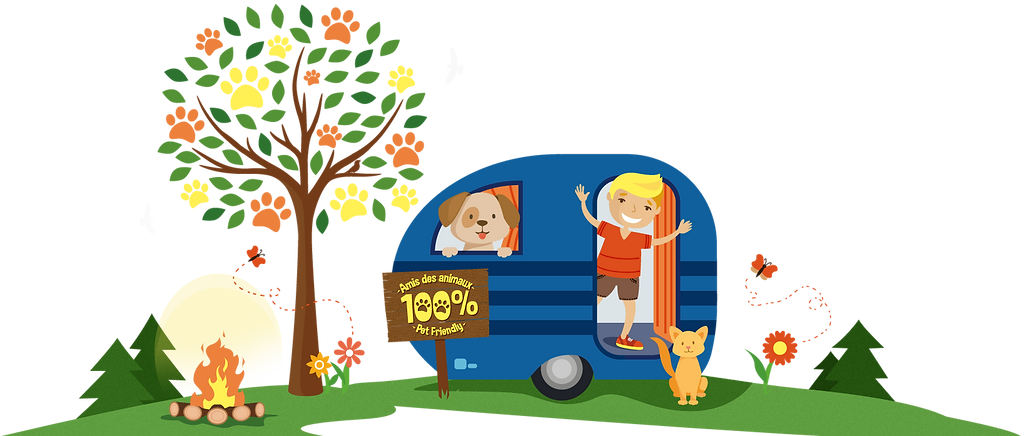 Camping avec animaux St-Chrysostome Montérégie